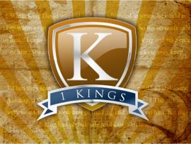 1 Kings Bible Study