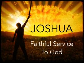 Joshua Bible Study